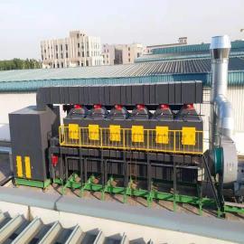 旭昂一恒催化燃烧设备治理工业废气YH-10K