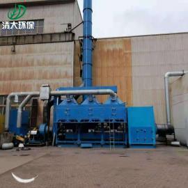 清大环保催化燃烧设备内部结构图 催化燃烧装置成套安装RCO吸附批量发货QD-30000