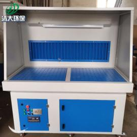 清大环保打磨台工作原理/吸尘打磨 除尘打磨操作台可移动工作3000*1000*1600