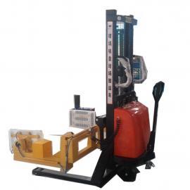汉尔得光伏行业坩埚喷涂电动搬运车、清洗打磨搬运吸盘吊具HT300