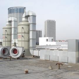锐新环境玻璃钢喷淋塔酸雾净化塔 除尘除臭洗涤塔BS-20