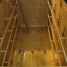 QJ钢材基础水池环氧树脂玻璃钢防腐两布四油|三布五涂