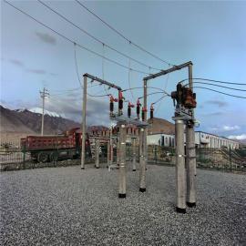 35KV高压线路型隔离开关三级防雾GW4-40.5/1250