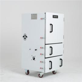 全风1.5KW磨料造粒用集尘机 打磨除锈粉尘集尘器 磨床工业除尘器JC-1500