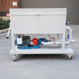 通瑞(TR)铸铁汽轮机透平油在线固液分离板框滤油机BK-200Z