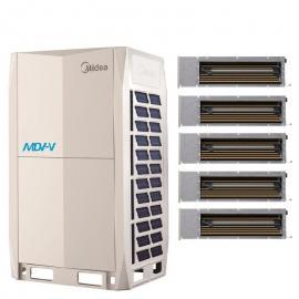 Midea(美的)美的商用全��l多��C 美的中央空�{工程�目 美的�L管�C 天花�CMDV-V