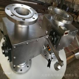 不锈钢翻板阀 电子计数阀 重锤式锁风阀 输灰下料阀DXH新�;繁�
