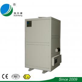 旭康催化燃烧喷漆房废气处理设备 定制RCO催化燃烧一体机