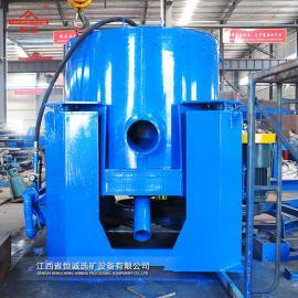 恒诚STLB60砂金脉金矿多金属矿的单体金回收设备水套式离心机