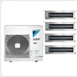 大金空调大金多联机VRV-P系列 大金家用中央空调主机 一拖四RPCZQ4BAV