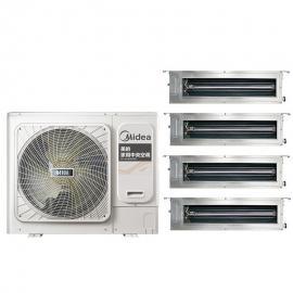 Midea(美的)美的变频中央空调4匹一拖三一拖四 美的多联机 风管机空调MDVH-V100W/N1-5R1LL(E1)