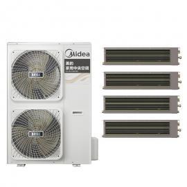 Midea(美的)美的家用中央空调6匹一拖四一拖五 美的嵌入式风管机 美的吸顶机MDVH-V140W/N1