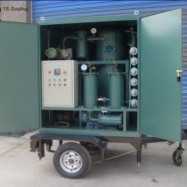 通瑞变压器油双级定制拖车式油水分离双级ZJA-FTJ