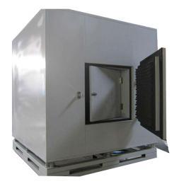 锅炉燃烧器隔声罩 机械设备消音器 隔音罩 风机隔声GSZ新海环保