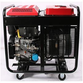 凯汇成品牌开架式便携式柴油发电机 12KW柴油等功率 单三相KH12500C
